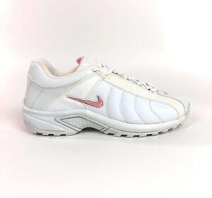 Nike-Womens-VXT-White-Shy-Pink-Cross-Training-Low-Shoes-Size-6-Retro-310215-161