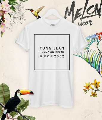 Yung Lean Unknown Death t-shirt top tee unisex fashion kanye kim blogger tumblr