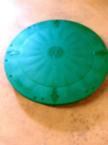 "24/"" TUF-TITE FLAT UNIVERSAL LID RISER PLASTIC SEPTIC TANK COVER"