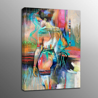 Abstract Canvas Prints Human Body Art Naked Oil Painting Art Picture No Frame Ebay