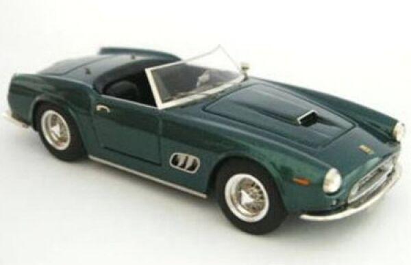 barato en alta calidad Ferrari 250swb Spyder California Princess Princess Princess Aga Khan (verde) 1962  servicio de primera clase