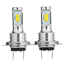 2Pcs-H7-55W-LED-Car-Fog-Tail-Driving-Light-Lampe-a-Phare-Ampoule-Blanc-Nouveau miniature 11