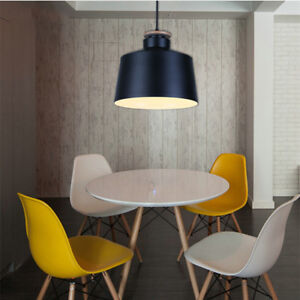 Image Is Loading Modern Pendant Lights Bedroom Lighting Bar Black Ceiling