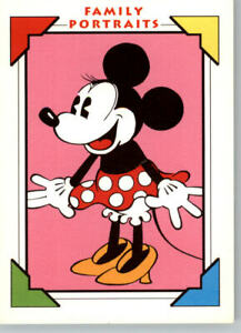 1991 Impel Minnie Mouse Disney Trading Cards Family Portraits #s 101, 113 & 114