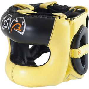 Rival Boxing Guerrero Facesaver Headgear - Yellow