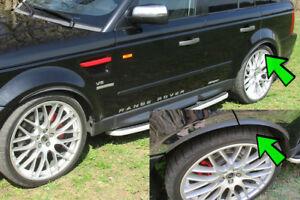 2x-CARBON-opt-Radlauf-Verbreiterung-71cm-fuer-Volvo-V90-II-Karosserieteile-Felgen