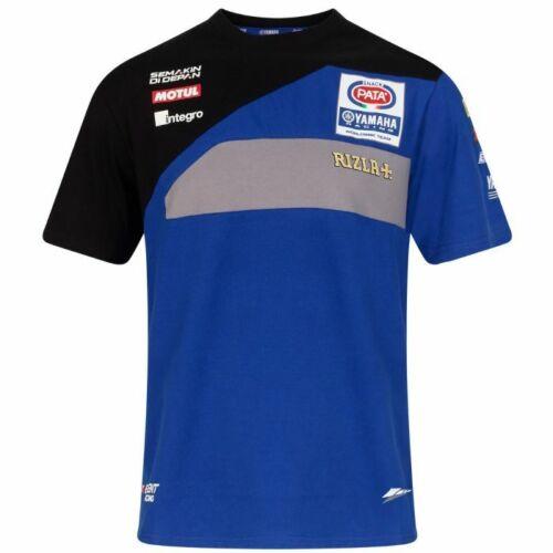 19YAMWSBK-R-ACT1 Official Pata Yamaha Racing Team T Shirt