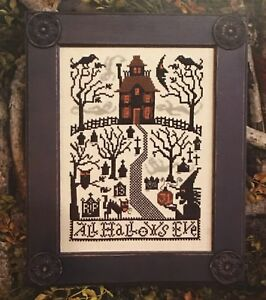 All Hallows Eve Halloween Prairie Schooler Cross Stitch Pattern 180 Original