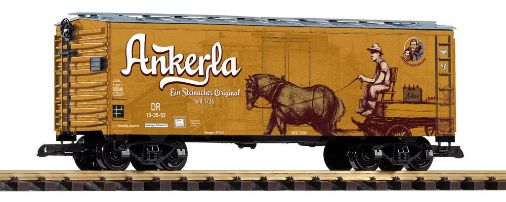 Piko G-Scale 37811 Ankerla Beer Reefer DR Ep.III MIB/New