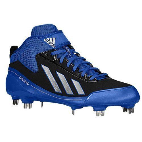Adidas Baseball AdiZero 5-Tool 2.5 PE Predrax Cleat Light Sprint shoes bluee Rare