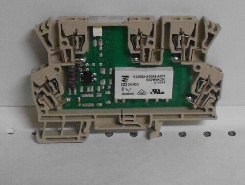 WEIDMUDLLER RELAY MODULE MCZ 24V DC