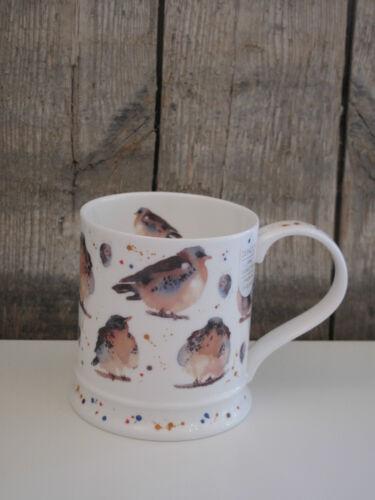 Kaffee Becher // Tasse Garden Birds Dunoon Iona Drossel Garten Vögel