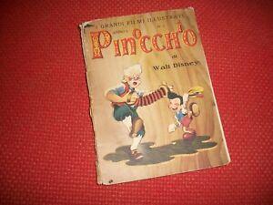 LIBRO-WALT-DISNEY-PINOCCHIO-ANNO-I-N-1-GENNAIO-1941-I-GRANDI-FILM-ILLUSTRATI
