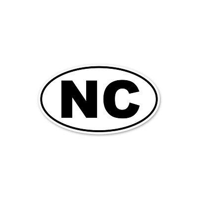 "BHI Bald Head Island NC North Carolina Oval car window bumper sticker decal 5/"" x"