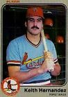 1983 Fleer Keith Hernandez #8 Baseball Card