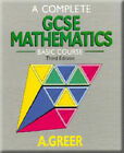 A Complete GCSE Mathematics: Basic Course by Alex Greer (Paperback, 1989)