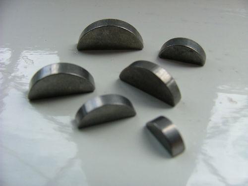 Metrisch Scheibenfeder Schlüssel Komplettbereich 2mm bis 5MM DIN6888