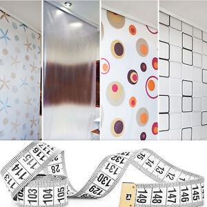 taillé sur mesure Store de douche 13 modèles Rideau de douche Gris ...