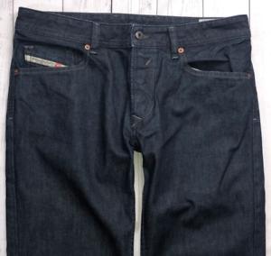 Linea-Uomo-Jeans-Waykee-Diesel-W33-L30-Blu-Regolare-Dritto-Lavare-0088Z