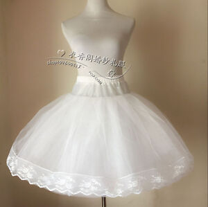 0aec14bf17b87 Image is loading Vintage-Knee-Length-Swing-Skirt-Prom-Silps-Crinoline-