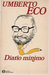 DIARIO MINIMO - UMBERTO ECO | eBay
