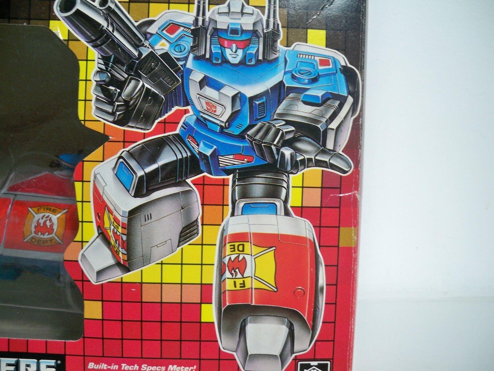 K1687023 Sirène En parfait état, dans sa boîte Comme neuf in box 100% Complete Transformers G1 Original