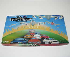 Beat The Competition Game of Sales Strategy Compete Games Vintage 1989