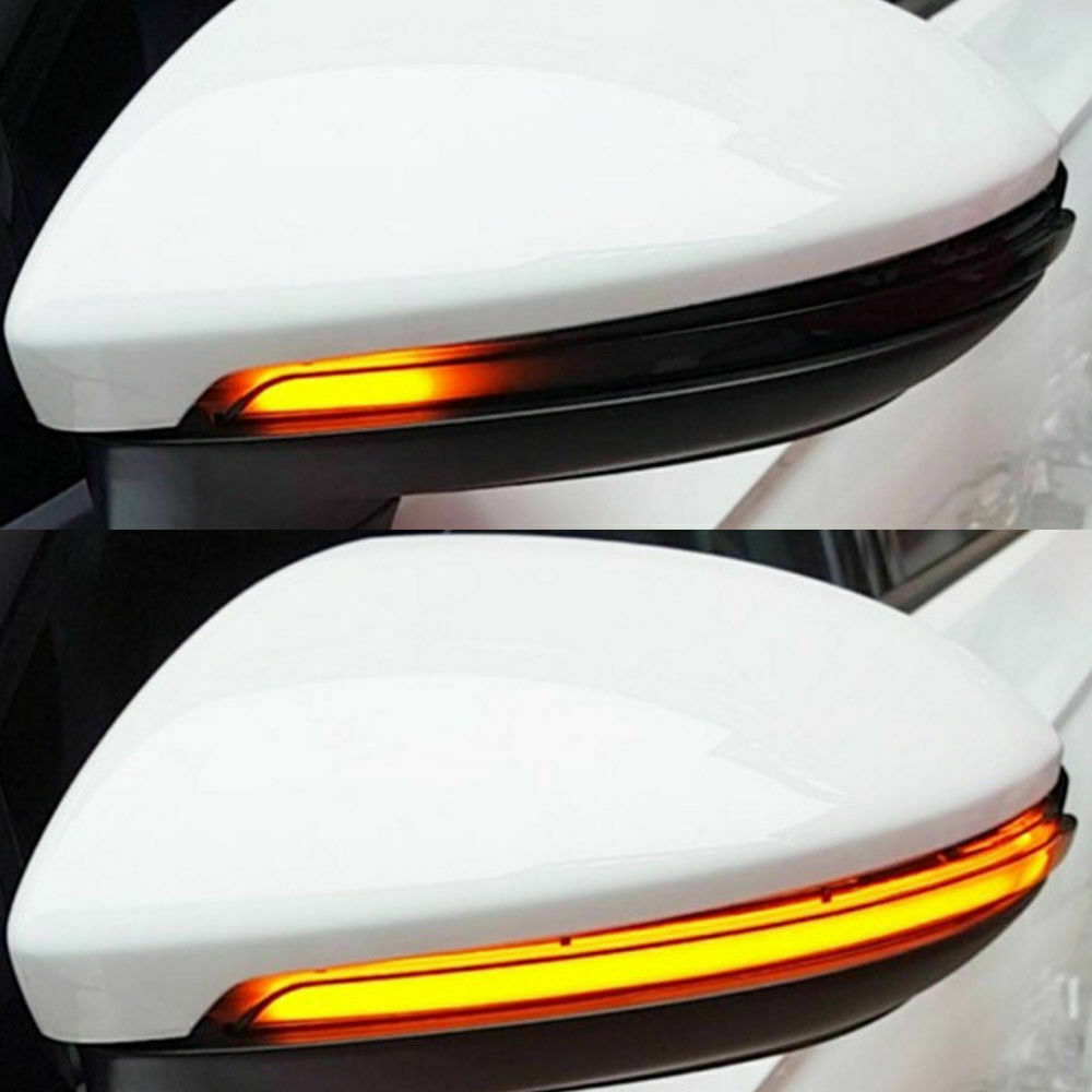 Dynamic Smoked Led Turn Signal Light Mirror Indicator For