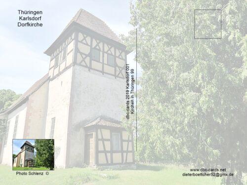 Karlsdorf Dorfkirche Thüringen 99