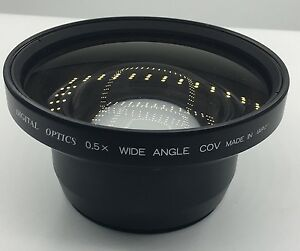 Digital-Optics-0-5x-Wide-Angle-Converter-72-x-105-Camcorder-Lens-Free-Shipping