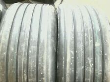 Two 11lx16 11l 16 Rib Implement Wagon 8 Ply Tractor Tires With Tubes
