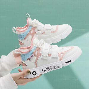 Damen-Flache-Schuhe-Turnschuhe-Laufschuhe-Sneaker-Sportschuhe-Freizeitschuhe