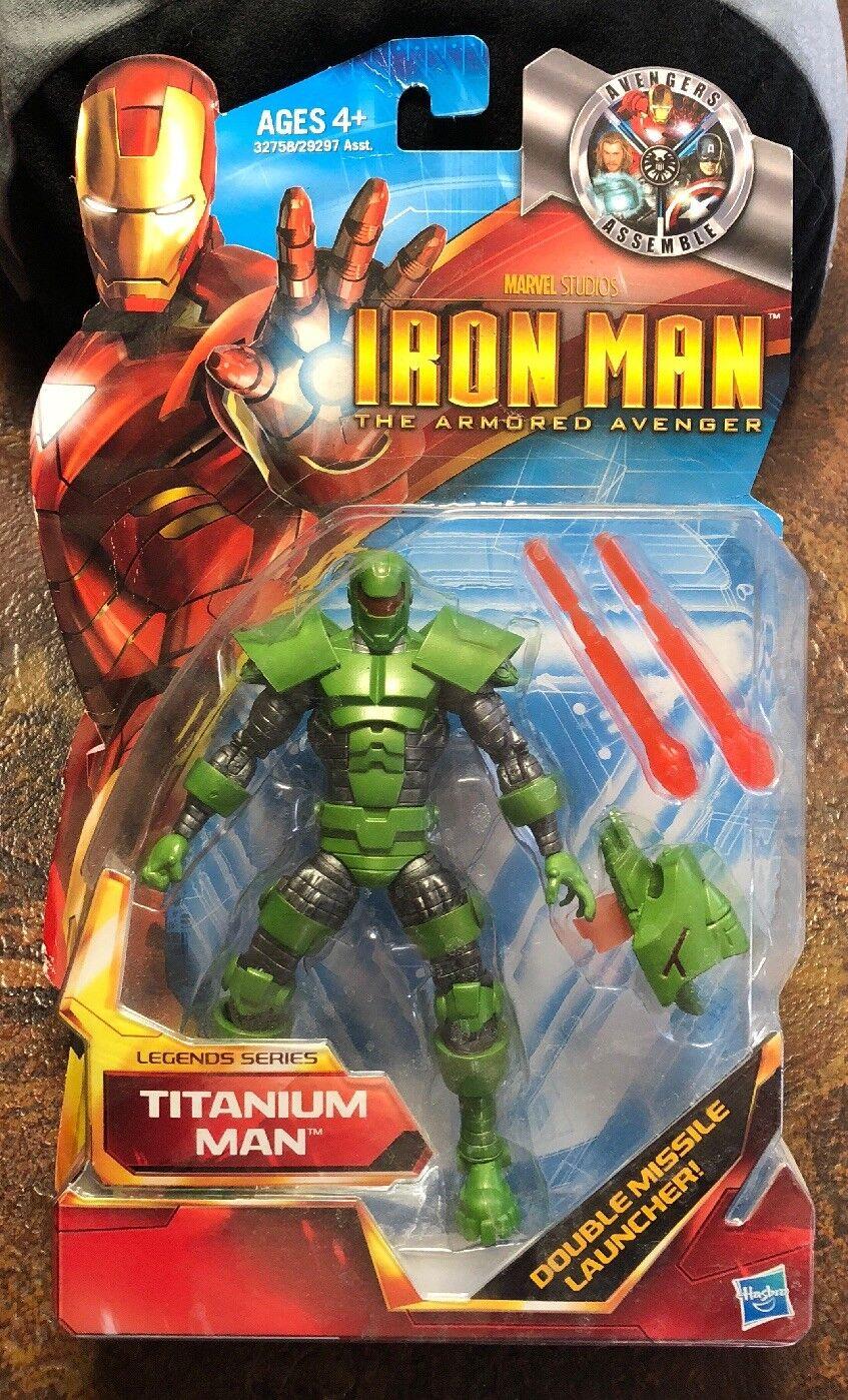 The Armored Avenger Legends Series 6 Titanium Man Action Figure