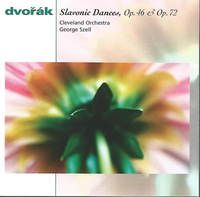 George Szell - Dvorak: Slavonic Dances Op.46 / 47 NEW CD (not sealed)