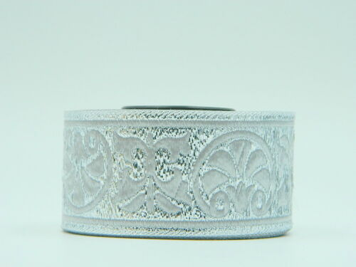 10m Jacquard Ribbon//Trim Medieval  33mm width Various colours available