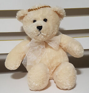 TOM-FOOLERY-GABRIEL-ANGEL-BEAR-PLUSH-TOY-SOFT-TOY-BEANIE-TOY-22CM-TALL