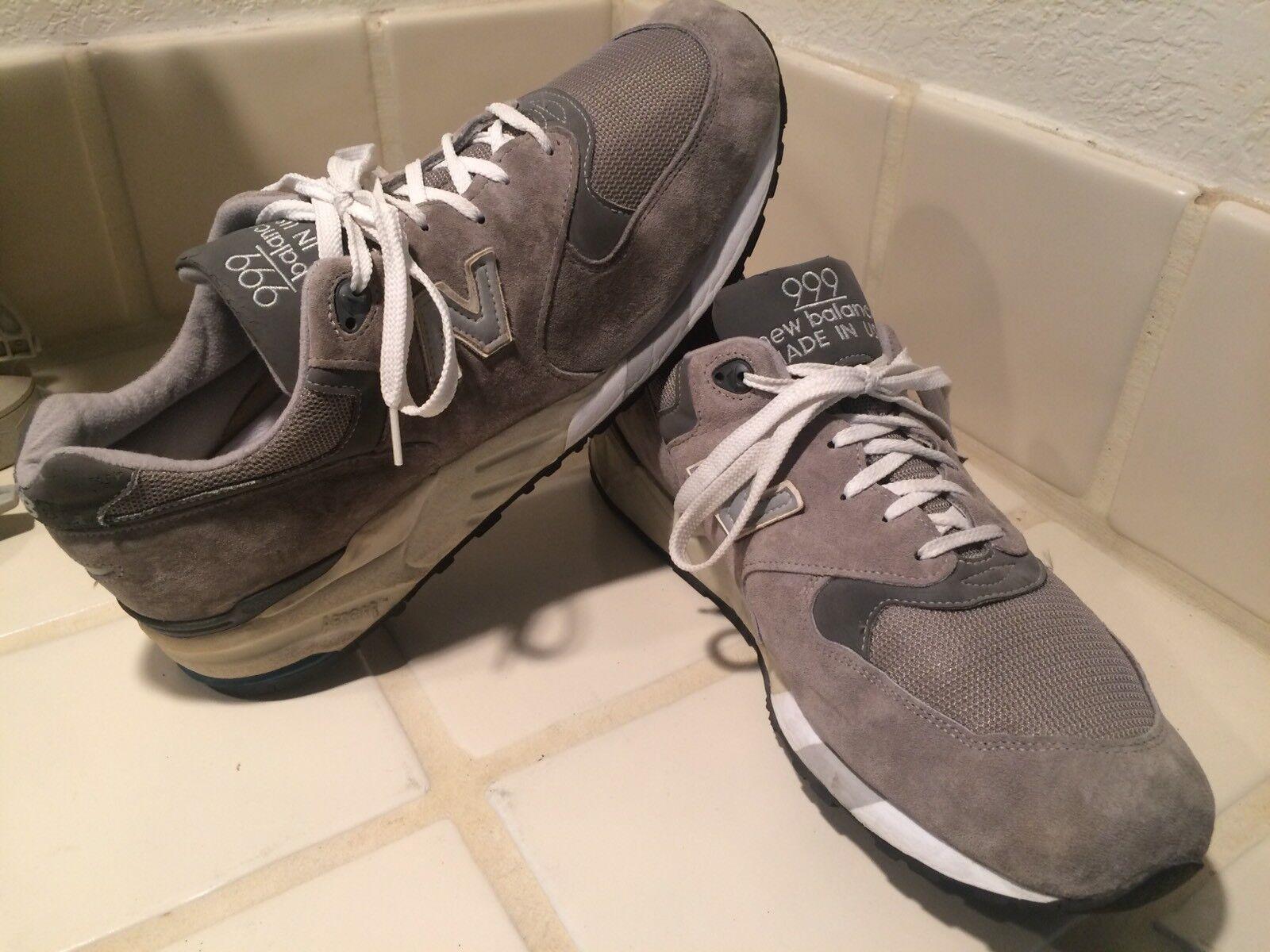 New balance M999gr gris E Hecho en EE. UU. 999 calzado para correr