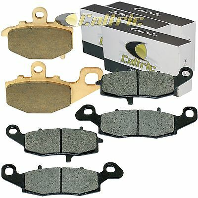 EBC Sintered FRONT and REAR Brake Pads 2007 to 2014 Kawasaki KLE650 Versys