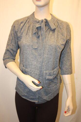 Bcbg Azria Maille jersey chiné Nouveau Cardigan en Max Medium M taille wEIFRSqx