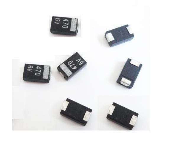 2 pcs New NEC Tantalum Capacitor 470uf 6.3v - replace NEC/TOKIN OE907 OE128