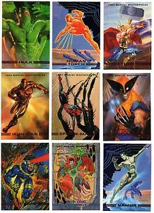 1993 Marvel Masterpieces base trading card #46 Domino Joe Jusko Skybox