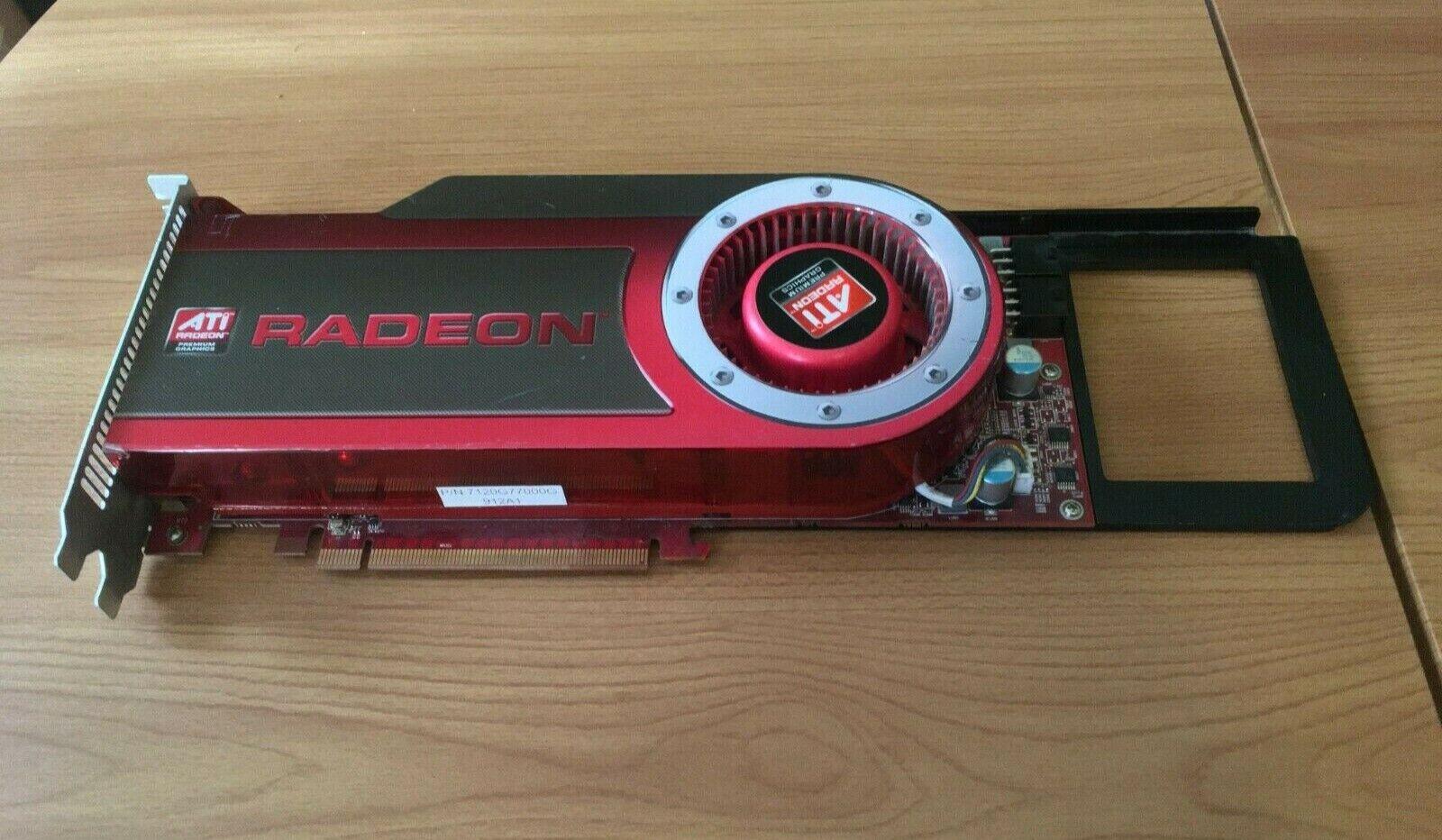 Apple ATI Radeon HD 4870 (MB999ZM/A) 512MB GDDR5 SDRAM PCI Express 2.0 Graphics