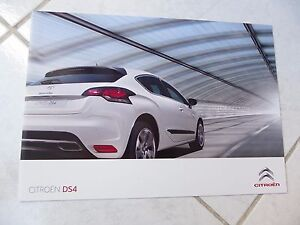 Citroen-DS4-2009-Sales-Folleto-Prospecto-Catalogo