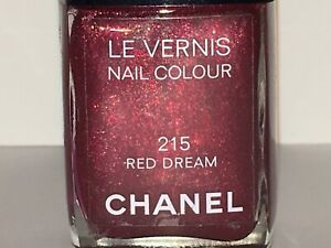 "CHANEL ""RED DREAM #215"" Nail Polish NEW 