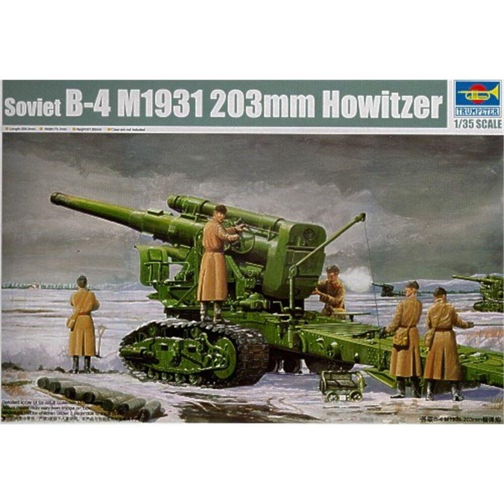 Trumpeter 1 35 Soviet B-4 M1531 203mm Howitzer Tru 135 B4