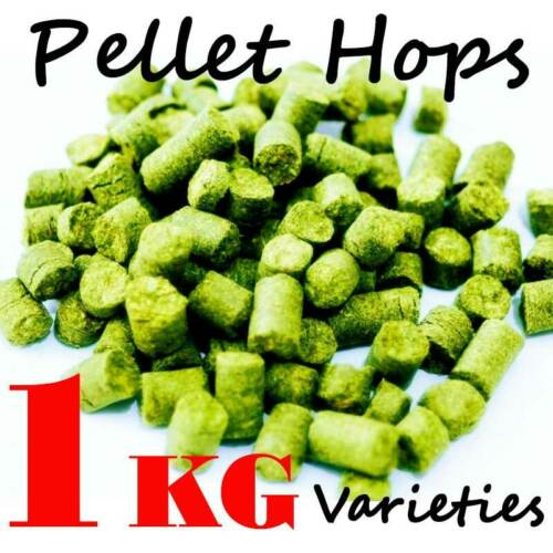 Hop Pellets 1Kg U.S German U.K /& Aus Varieties CLEARANCE ON ALL HOPS AVAILABLE
