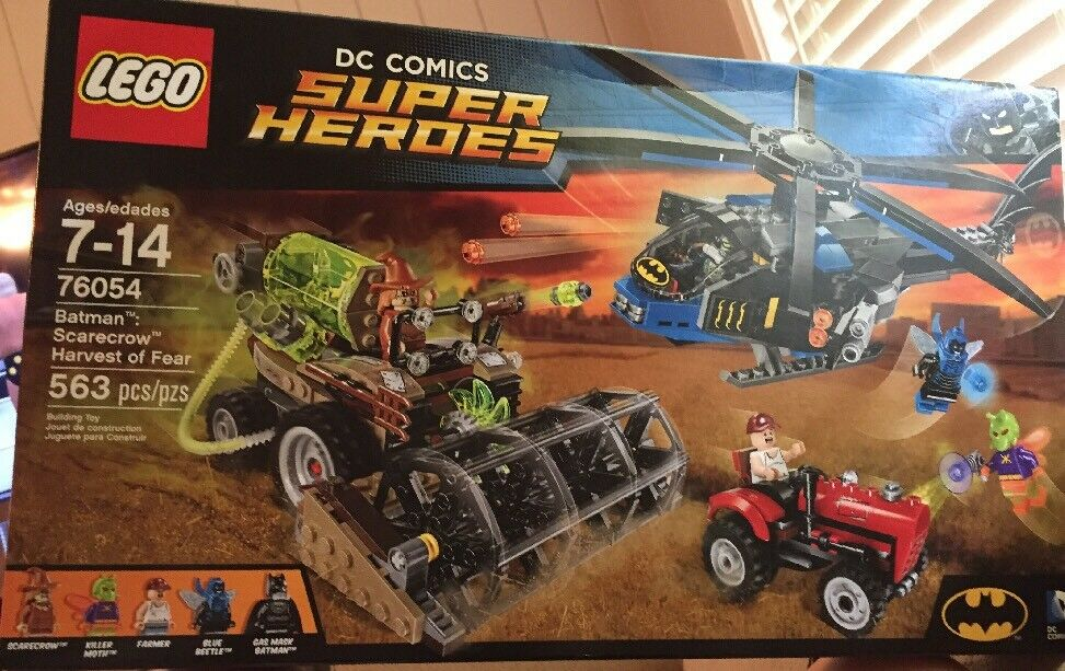 LEGO DC Comics Super Heroes Heroes Heroes Batman Scarecrow Harvest of Fear (76054) New Sealed ba25d5