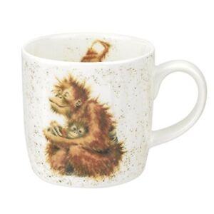 Wrendale-Designs-Orangutangle-Orang-Utan-Single-Mug-Bone-China-Multi-Colour-8