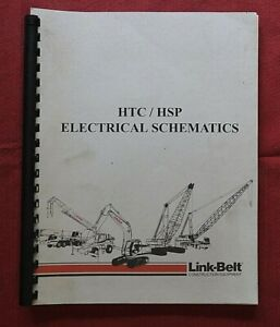 LINK-BELT SPEEDER HTC 14 20 25 34 35 50 HSP CRANE CUMMINS ELECTRICAL SCHEMATICS