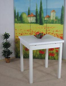 esstisch ausziehbar k chentisch esszimmertisch wohnzimmertisch tisch wei ebay. Black Bedroom Furniture Sets. Home Design Ideas